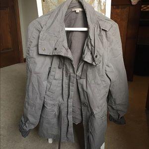 Light Grey Trenchcoat